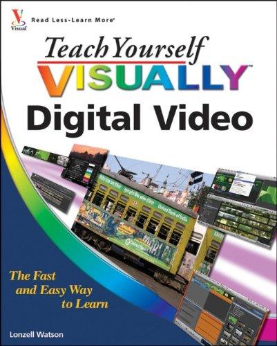 - Teach Yourself VISUALLY Digital Video