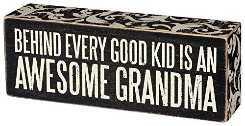Sign Awesome Grandma Primitives Kathy product image