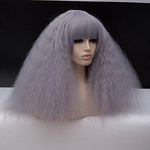 18 Corta lockig Lolita Fashion Harajuku Cosplay Hair Full Wig Peluca: Amazon.es: Juguetes y juegos