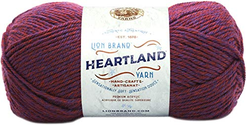 Lion Brand Yarn Heartland Yarn, Isle Royale