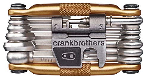CRANKBROTHERs Multi-Tool - Steel Bike Tool, Torx, Hex and Chain Tool Compatible (M19, M17, M10, M5) from CRANKBROTHERs