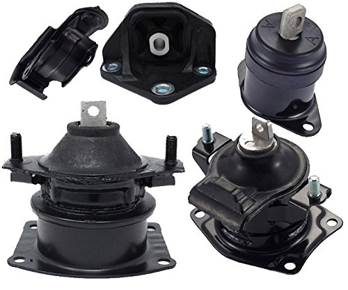 - Engine Motor and Trans Mount Set of 5 for 2004 2005 2006 Acura TL 3.2L Auto Transmission