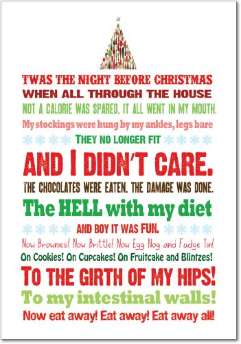 B5965-Box-Set-of-12-Twas-the-Bite-Before-Christmas-Unique-Funny-Christmas-Cards-with-Envelopes