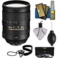 Nikon 28-300mm f/3.5-5.6 G VR AF-S ED Zoom-Nikkor Lens with 3 UV/ND8/CPL Filters Kit for D3200, D3300, D5300, D5500, D7100, D7200, D750, D810 Cameras