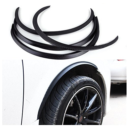 Fender Flares Arch Wheel Eyebrow Auto Mudguard Fender Flare Wheel Lip Body Kit Protector Cover Mud Guard Universal 117cm 4PCS
