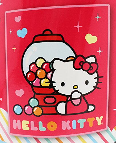 Hello Kitty Gum Ball Machine Pink Colored Scented Throw Blanket