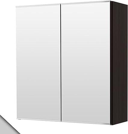 Armadio In Plastica Ikea.Ikea Lillangen Armadietto A Specchio Con 2 Ante Colore Nero Marrone Amazon It Cancelleria E Prodotti Per Ufficio