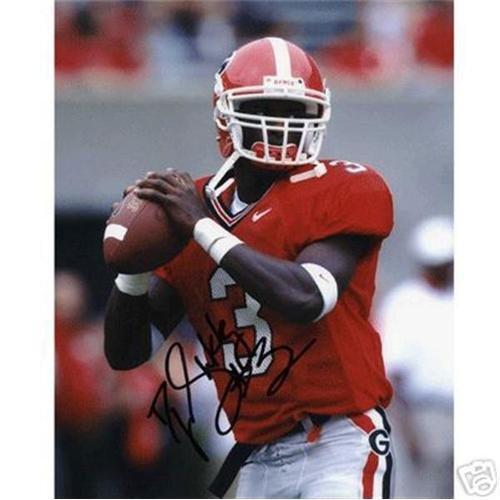 D.J. Shockley Autographed Georgia Bulldogs 8x10 Photo - Georgia Bulldogs 8x10 Photo