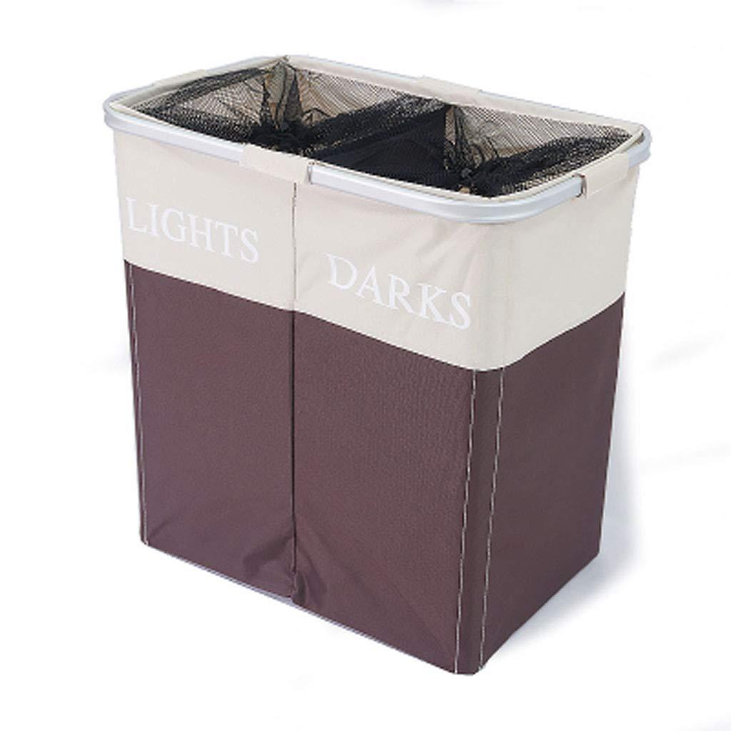 Laundry Basket |Double Basket Large Capacity ┃ Waterproof
