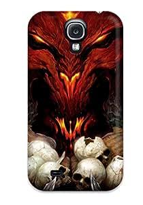 Hot NgedzBF8299tNigu Diablo Iii Tpu Case Cover Compatible With Galaxy S4