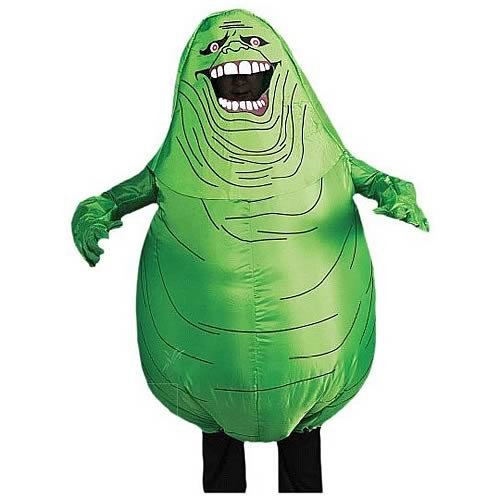Ghostbusters Adult Inflatable Slimer Set, Green, Standard (Inflatable Slimer)