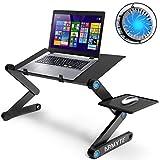 """Folding laptop stand desk 23.2"""" Adjustable Laptop Stand for bed Lap Desks Laptop"""