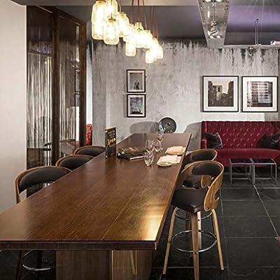 Amazon.com: Xing Solid Wood Bar Stools Bar Stools Bar Chairs ...
