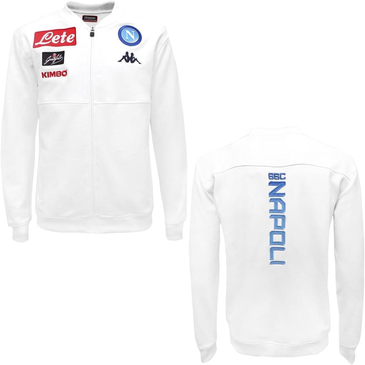 SSC Napoli Naples Kappa aruderin Fleece 3 Jacket Cremallera ...