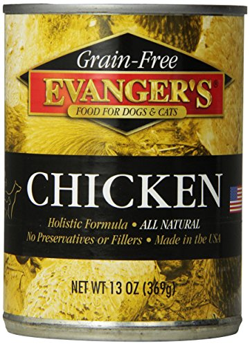 Evangers 12-Pack Gold Grain Free Cooked Chicken for Dogs, 13-Ounce