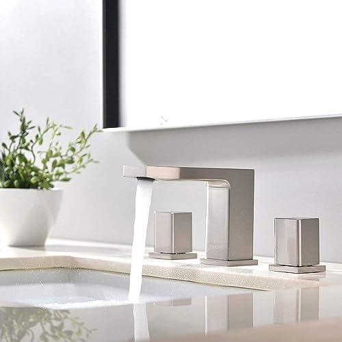 VCCUCINE WIDESPRESD BATHROOM FAUCET Silver