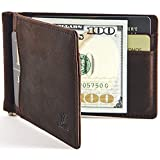 YBONNE Men's Slim Bifold Wallet with Money...
