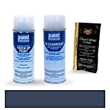 2011 Hyundai Sonata Pacific Blue Pearl T3 Touch Up Paint Spray Can Kit by PaintScratch - Original Factory OEM Automotive Paint - Color Match Guaranteed