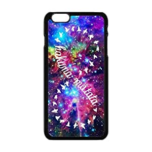 Case Cover For Apple Iphone 6 4.7 Inch Sparkling Nebula Hakuna Matata Infinity