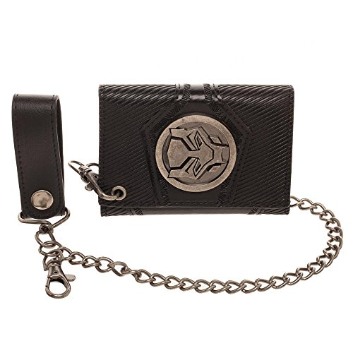 Badge Chain Wallet (Black Panther Black Chain Wallet)