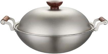 Yibao 3.5L Keith Titanium al aire libre Picnic Wok Cocina de ...