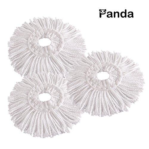 Microfiber Heads Panda Spin Mops