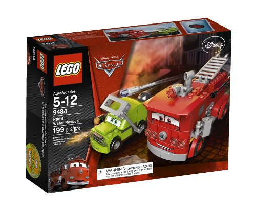 LEGO Cars Red's Water Rescue 9484](Red Car Lego)