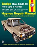 Dodge Ram 50/D-50 Pickups and Raider, 1979-1993, Robert Maddox and Curt Choate, 1563920859