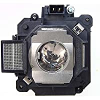 OEM Epson ELPLP63 / V12H010L63 Lamp for the EB-C450WH, EB-C450WU, EB-C520XH, EB-G5660W N, EB-G5800, EB-G5900, EB G5900, EB G5950 N, EB-G5650W, EB-G5750WU, EB-G5950, V11H348020 N, POWERLITE 4200W, PRO G5750WU N, POWERLITE PRO G5950, G5650WNL, and G5650W N Projectors