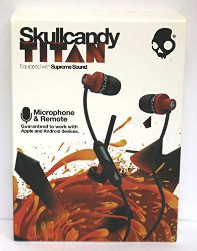 Skullcandy Titan with Mic Earphones/Earbuds Stereo...