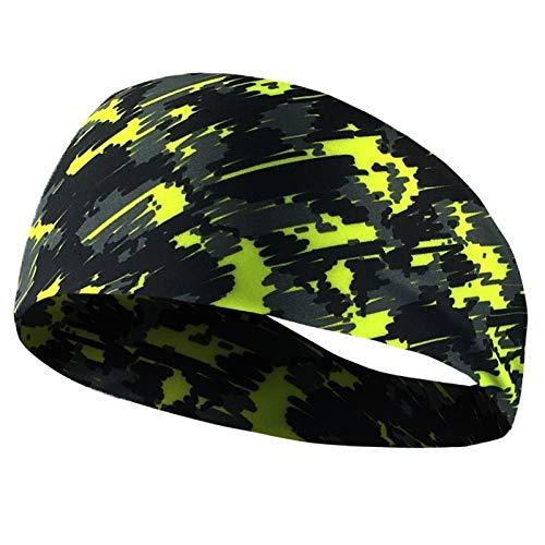 TD004 Soft Running Fitness Yoga Headband Antiperspirant Stretch Hairband Elastic Sweatband for Men Women