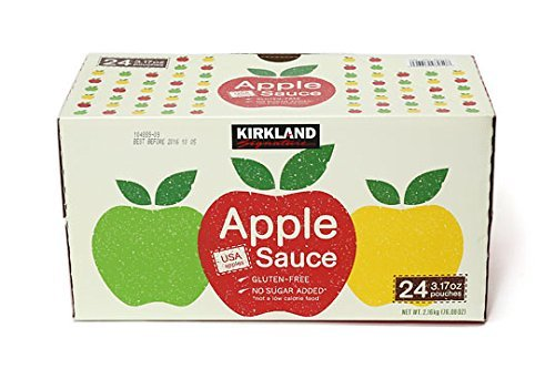 Costco Kirkland apple sauce pouch 90gX24 pieces (baby food / cuisine of the secret ingredient / snack) by KIRKLAND (Kirkland) (Image #1)