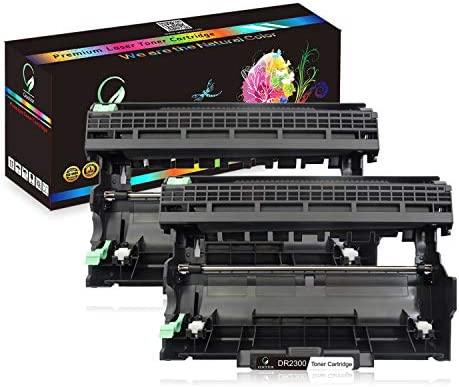 DR2300 Tambor Alta Capacidad Compatible para Brother HL-L2300D L2340DW L2360DN L2365DW DCP-L2500D L2520DW L2540DN MFC L2700DW, 12,000 Páginas, 2 ...