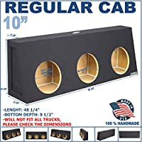 Regular Cab Sub Box 10 Triple Sealed Sub woofer Enclosure