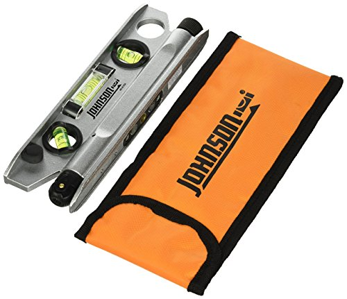 Cheap JOHNSON 40-6164 7-1/2-Inch Magnetic Torpedo Laser Level with Softsided Padded Carrying Pouch torpedo level with laser