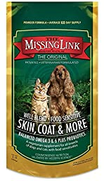 Missing Link 1-Pound Well Blend Nutritional Supplement for Dogs and Cats (2-Pound)