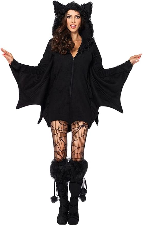 Krawatte Fledermaus Halloween Gothic Kostüm Party