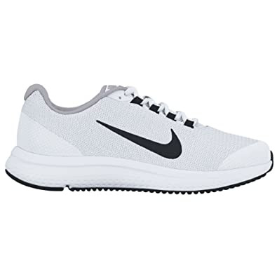 dd993cba490a9 NIKE RunAllDay White Black Wolf Grey Men s Running Shoes  Amazon.co.uk   Shoes   Bags