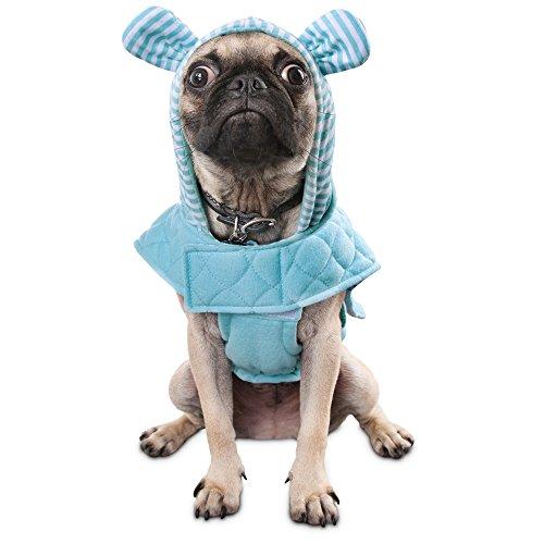Bond & Co. Blue Bear Dog Hoodie, ()