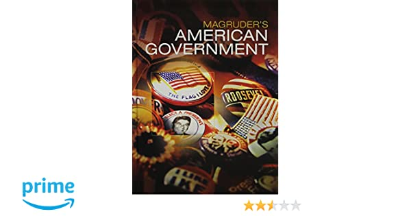 Amazon.com: MAGRUDERS AMERICAN GOVERNMENT 2016 STUDENT EDITION ...