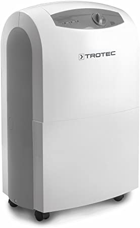 TROTEC TTK 100 S Portable Dehumidifier, Air Dryer 30 Litres Day