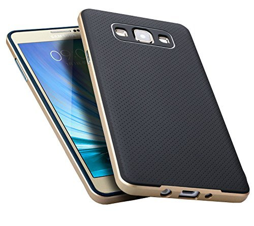 info for 0ec8e 205c8 Kapa Neo Hybrid -II Ultra Thin Shockproof Back + Bumper Case Cover for  Samsung Galaxy A5 - Gold