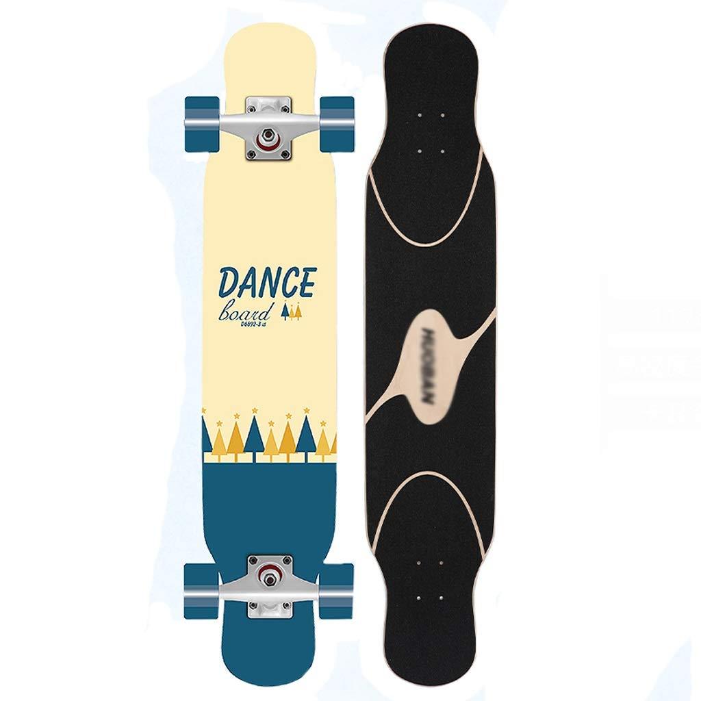 【名入れ無料】 DUWEN B07P2HML8C スケートボードメープルロングボードプロフェッショナルボードティーンブラシストリートダンスボード男の子初心者四輪スクーター (色 : (色 : C) B07P2HML8C C, 阿波安:10ea3fed --- senas.4x4.lt