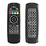 Air Mouse, STRQUA Air Remote Mouse G7 Backlit, 2.4G Wireless Kodi Remote Control,Mini Wireless Keyboard & infrared Remote Control Learning, Best For Android Smart Tv Box HTPC IPTV PC Pad (G7 Backlit)