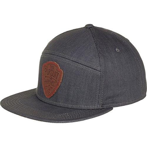 Meridian Line Pursuit 5-Panel Hat Denim Grey, One Size