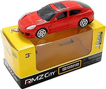 RMZ City 3018 Porsche Panamera turbo RED 3 inch die-cast model mini miniature cars