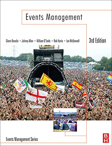Events Management, Third Edition PDF
