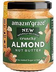 Amazin' Graze Crunchy Almond Butter, 200 g