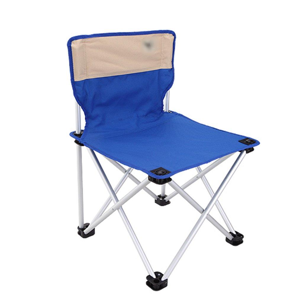 Anna Kletterstuhl Outdoor Casual Klappstuhl Strand Stuhl Fischen Stuhl Direktor Canvas Stuhl Komfortable Rest Stuhl Blau