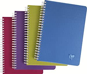 Clairefontaine Linicolor Spiral Bound Notebook Assorted Colours